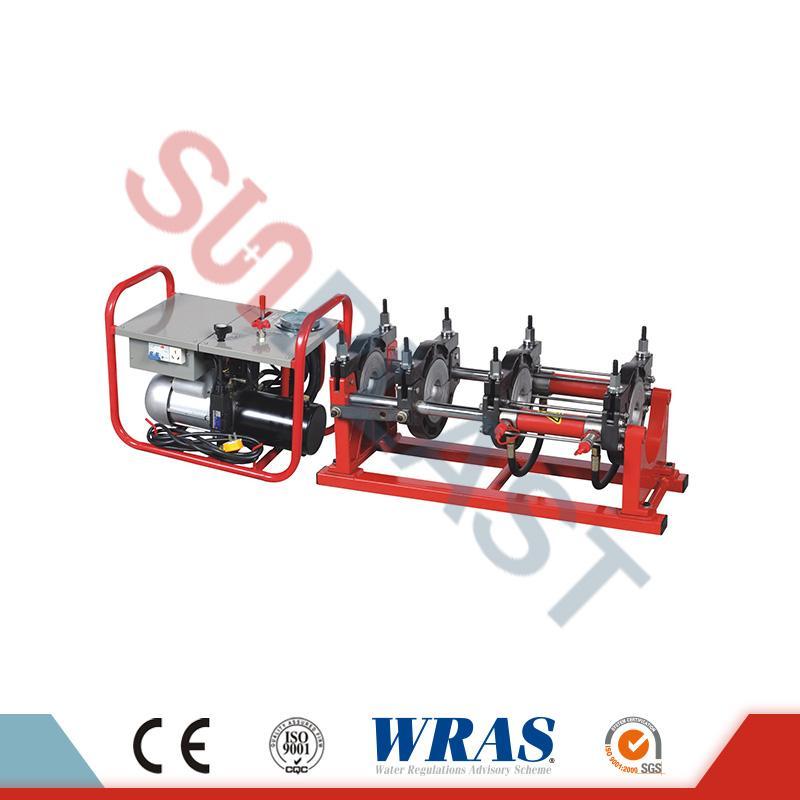 63-200 mm manuaalinen / hydraulinen Butt Fusion-hitsauskone HDPE-putkelle