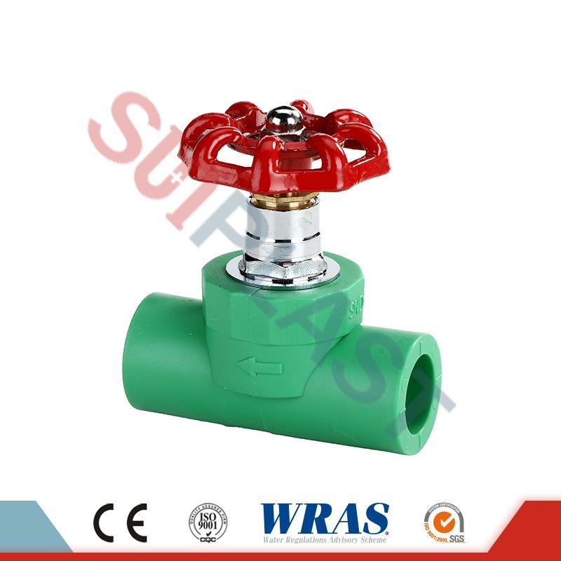 DIN8077 PPR-pysäytysventtiili