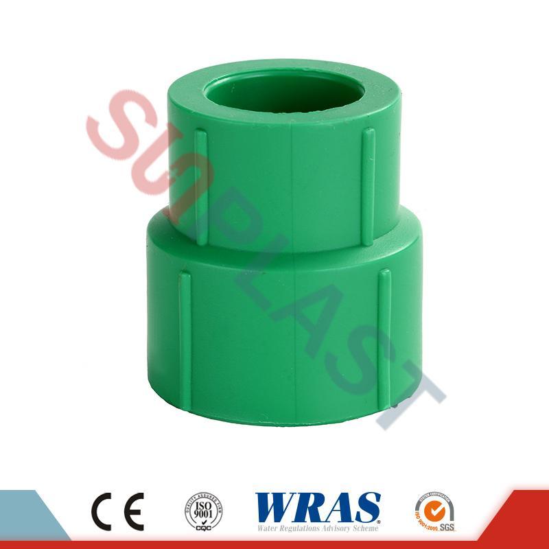 DIN8077 PPR-pienennysliitin